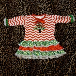 Childs Christmas dress